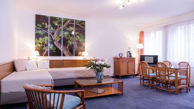 Apartment 1 bed-, 1 livingroom